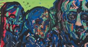 A.R. Penck Portrait J. Gachnang